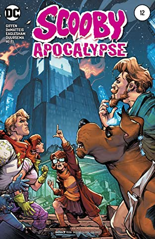 Scooby Apocalypse (2016-) No.12