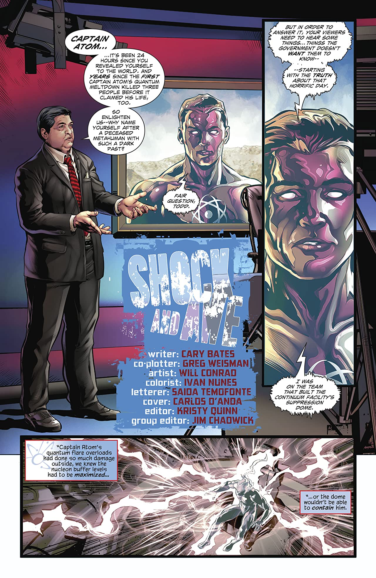 The Fall and Rise of Captain Atom (2017-) #4
