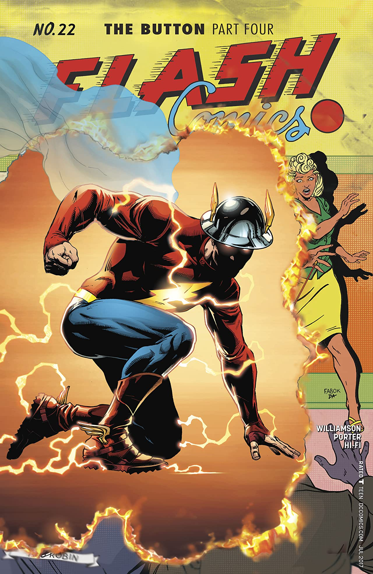 The Flash (2016-) #22