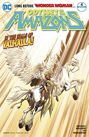 The Odyssey of the Amazons (2017-) #4