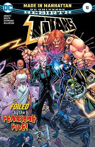 Titans (2016-2019) #10
