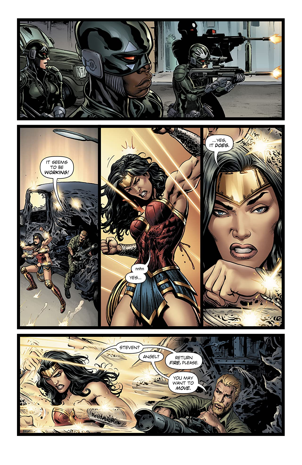 Wonder Woman (2016-) #21