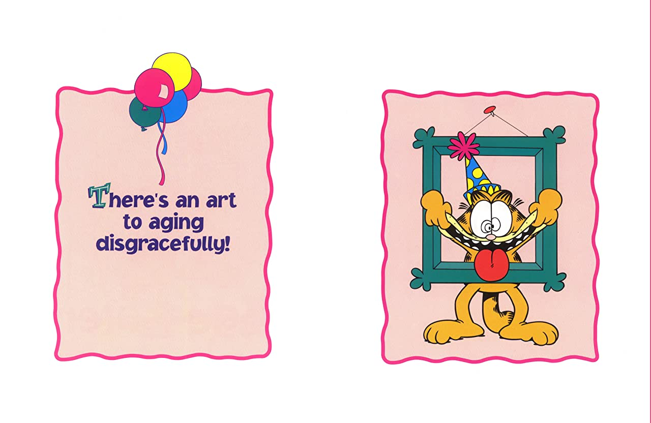 Garfield: Party Now, Age Later!