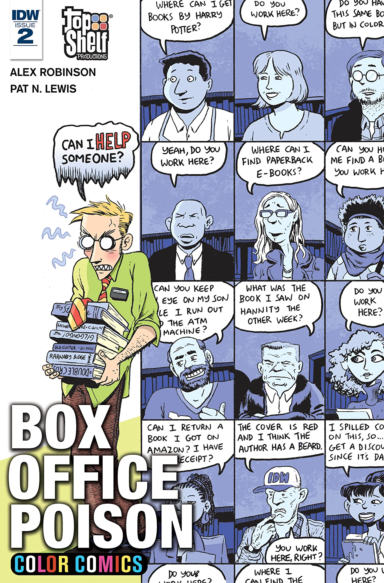 Box Office Poison Color Comics #2