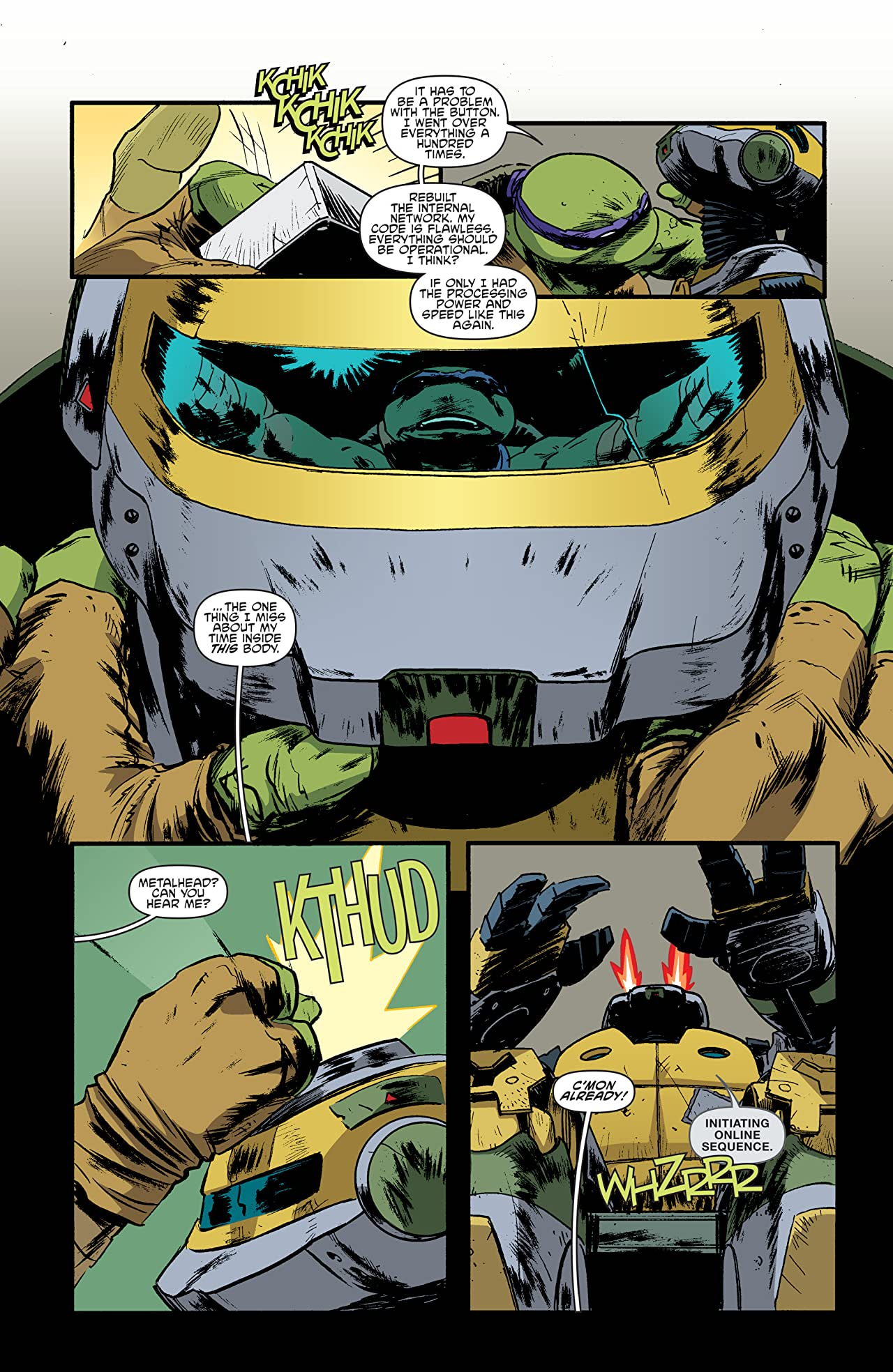 Teenage Mutant Ninja Turtles Universe #7