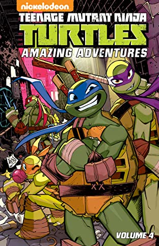 Teenage Mutant Ninja Turtles: Amazing Adventures Tome 4