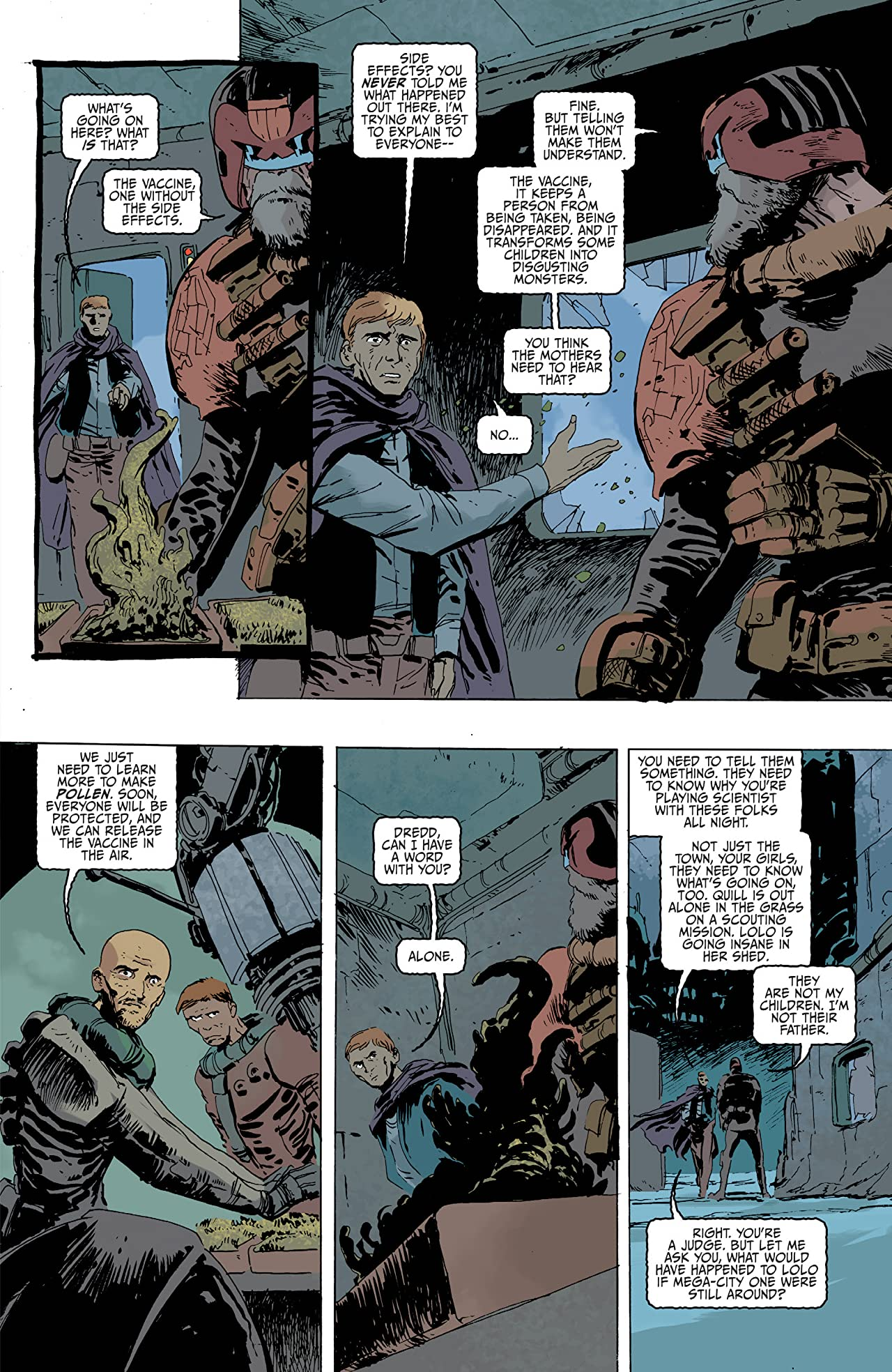 Judge Dredd: Mega-City Zero Vol. 3