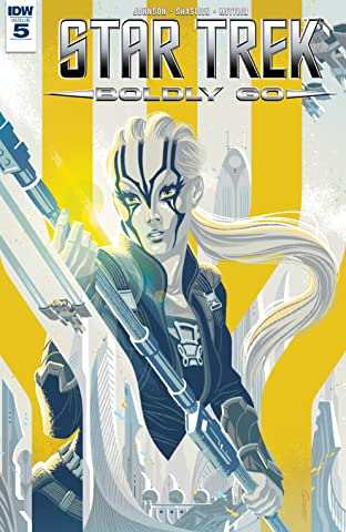 Star Trek: Boldly Go #5