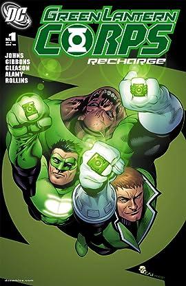 Green Lantern Corps: Recharge No.1 (sur 5)