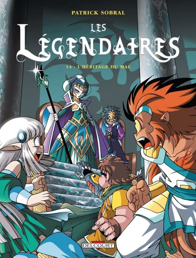 Les Légendaires Vol. 14: L'Héritage du Mal