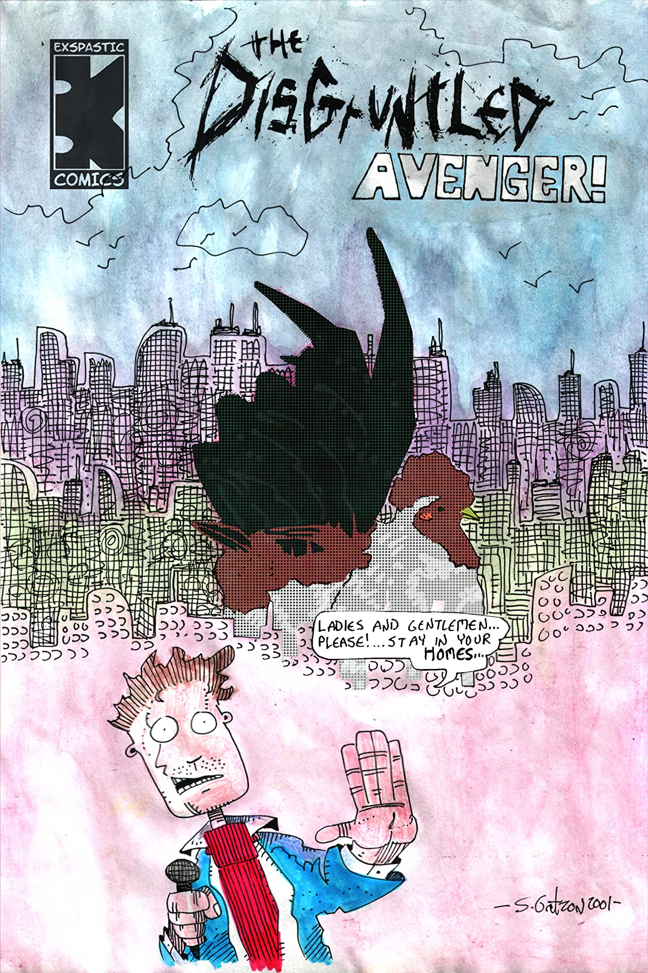 The Disgruntled Avenger #14