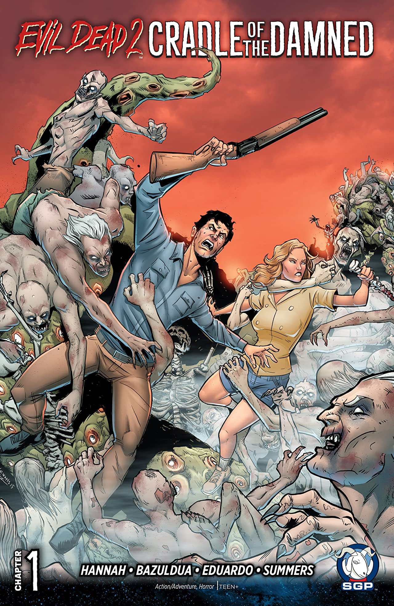 Evil Dead 2: Cradle of the Damned #1
