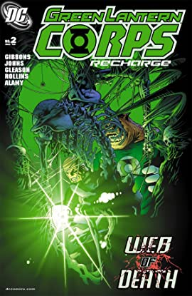 Green Lantern Corps: Recharge No.2 (sur 5)