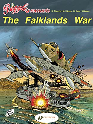 Cinebook Recounts Vol. 2: The Falklands War