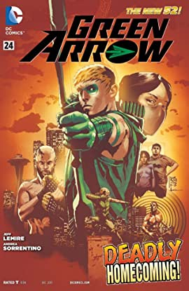 Green Arrow (2011-2016) No.24