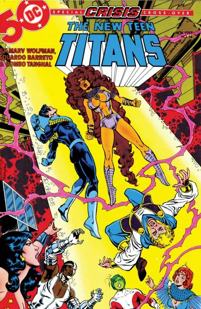 The New Teen Titans (1984-1996) #14