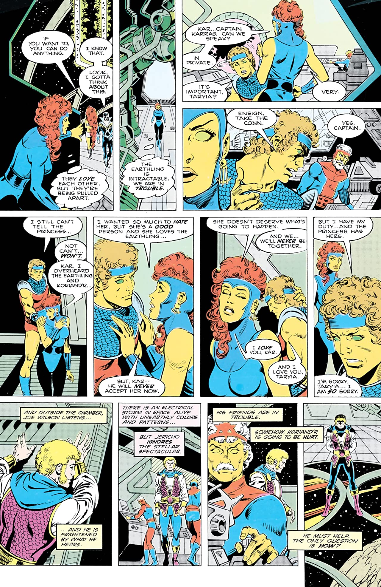 The New Teen Titans (1984-1996) #15