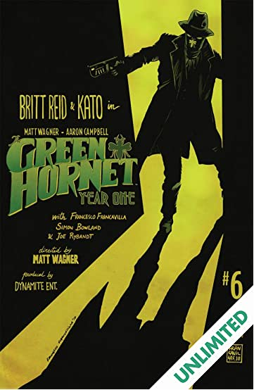 Green Hornet: Year One #6