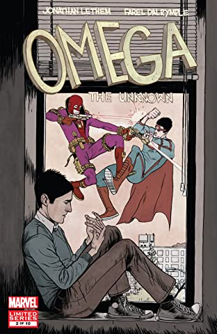 Omega: The Unknown (2007-2008) #2 (of 10)