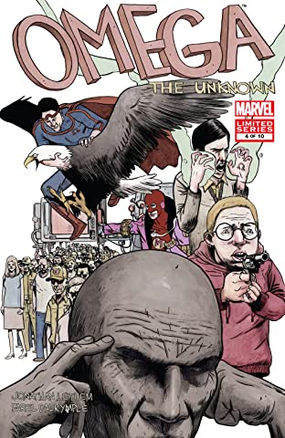 Omega: The Unknown (2007-2008) #4 (of 10)