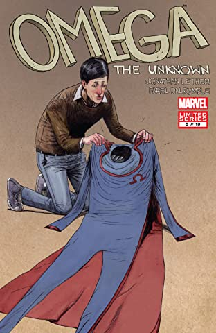 Omega: The Unknown (2007-2008) #5 (of 10)