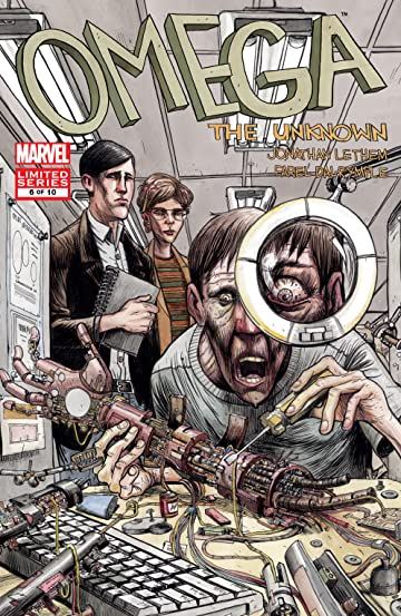 Omega: The Unknown (2007-2008) #6 (of 10)
