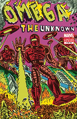 Omega: The Unknown (2007-2008) #7 (of 10)