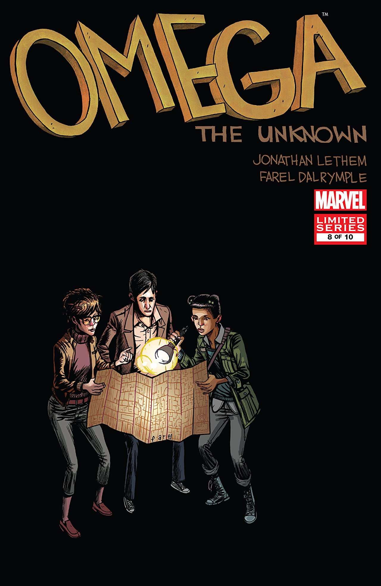 Omega: The Unknown (2007-2008) #8 (of 10)