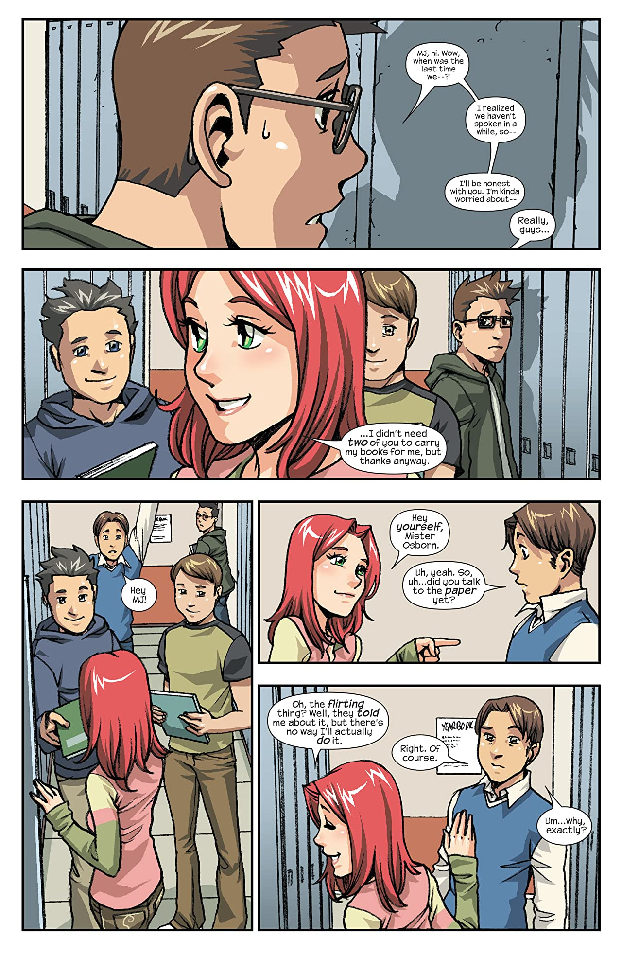 Spider-Man Loves Mary Jane (2005-2007) #12