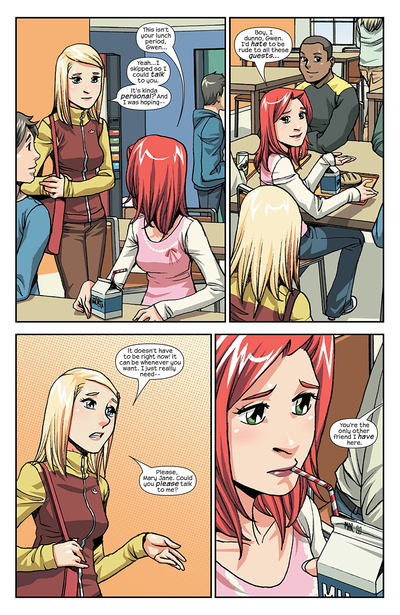 Spider-Man Loves Mary Jane (2005-2007) #13