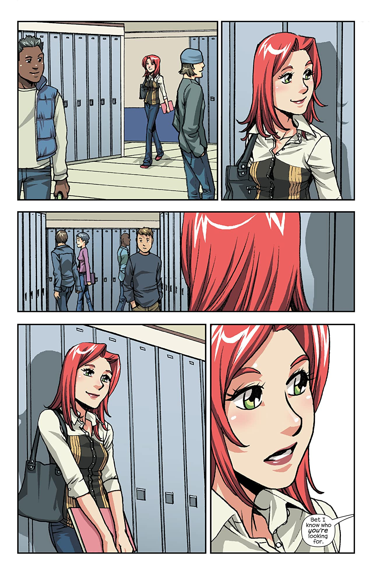 Spider-Man Loves Mary Jane (2005-2007) #14