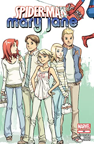 Spider-Man Loves Mary Jane (2005-2007) No.20
