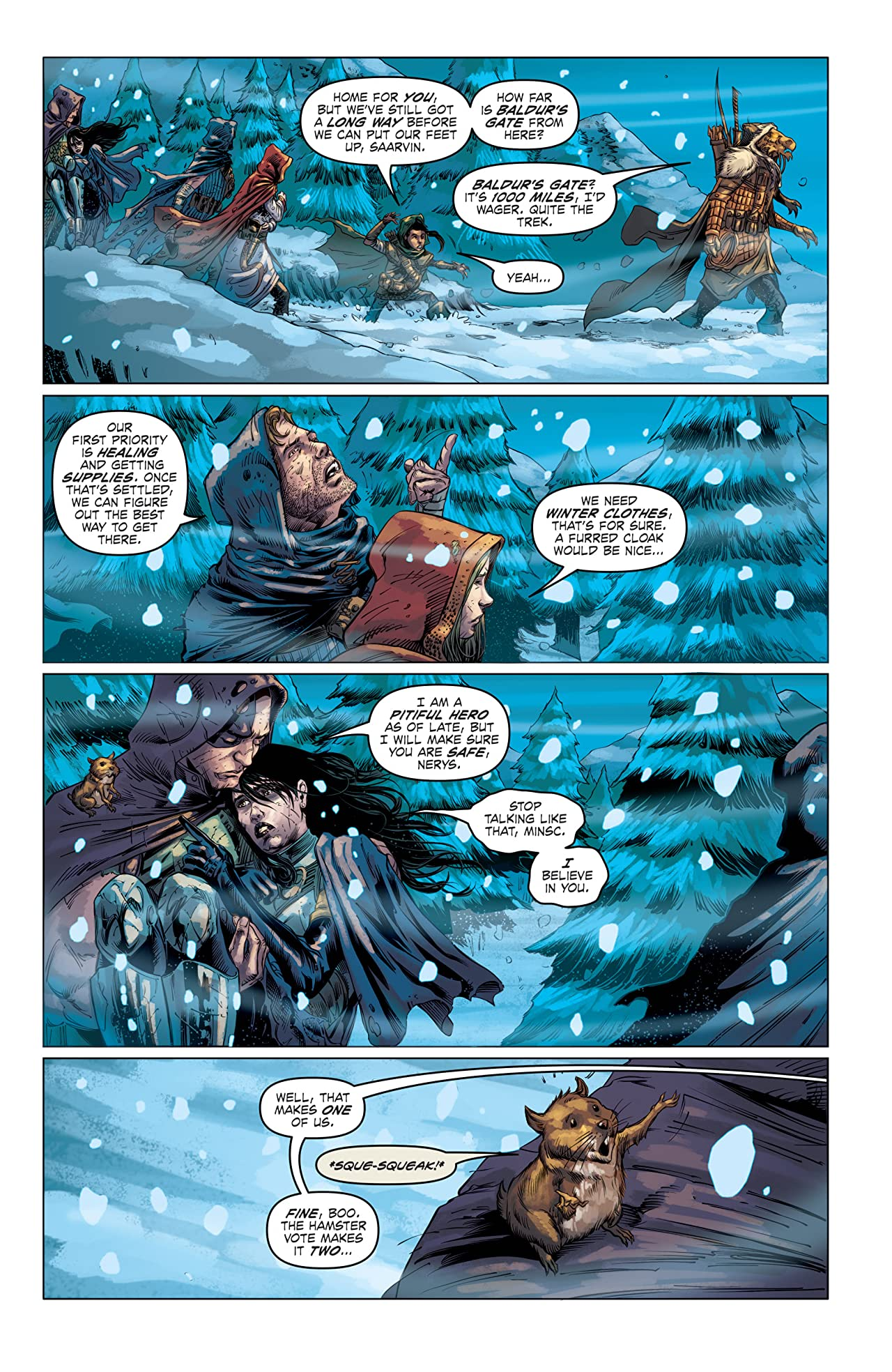 Dungeons & Dragons: Frost Giant's Fury #2