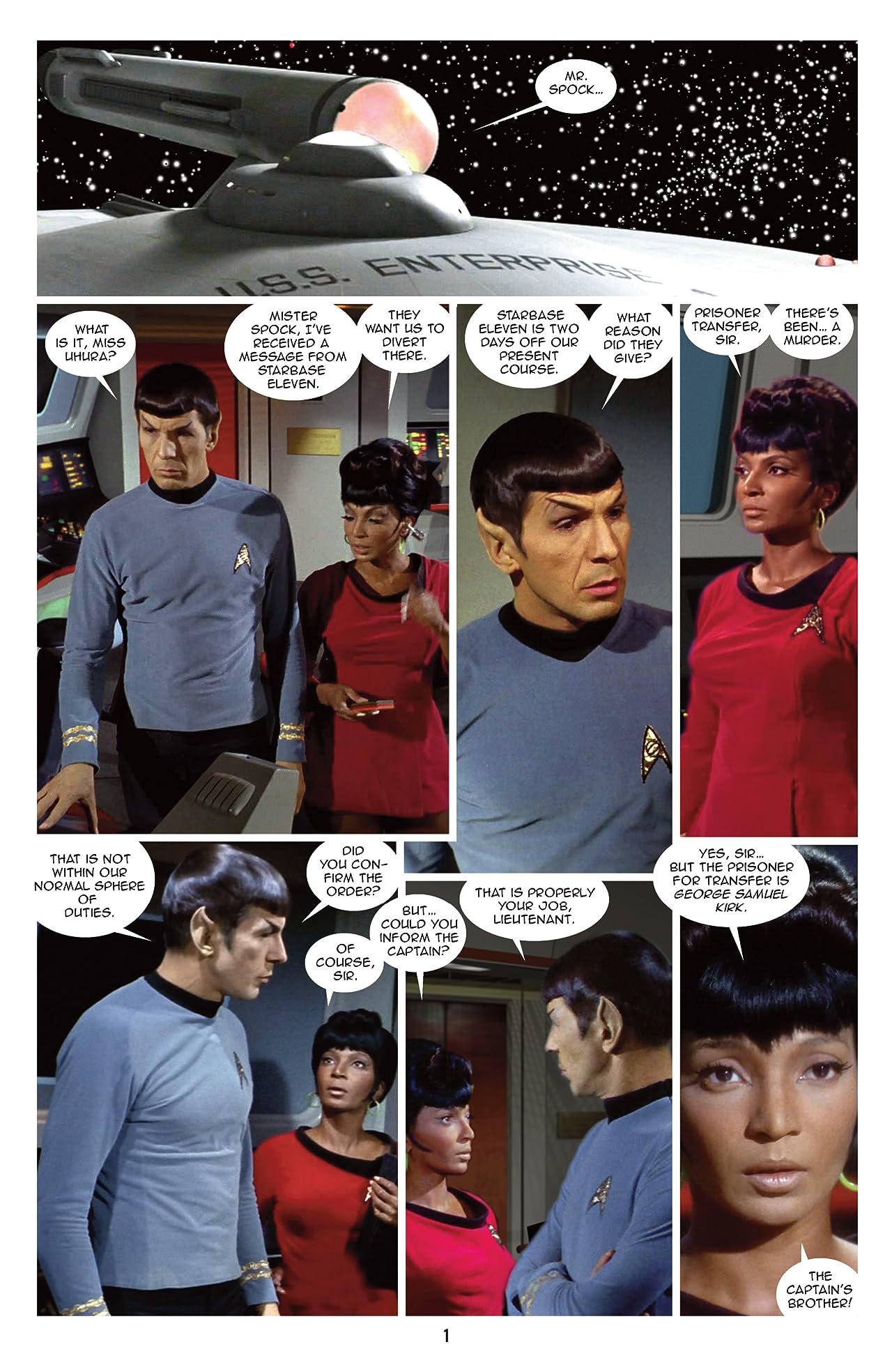 Star Trek: New Visions #14: Sam