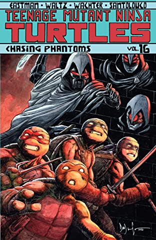 Teenage Mutant Ninja Turtles Tome 16: Chasing Phantoms