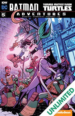 Batman/Teenage Mutant Ninja Turtles Adventures #5