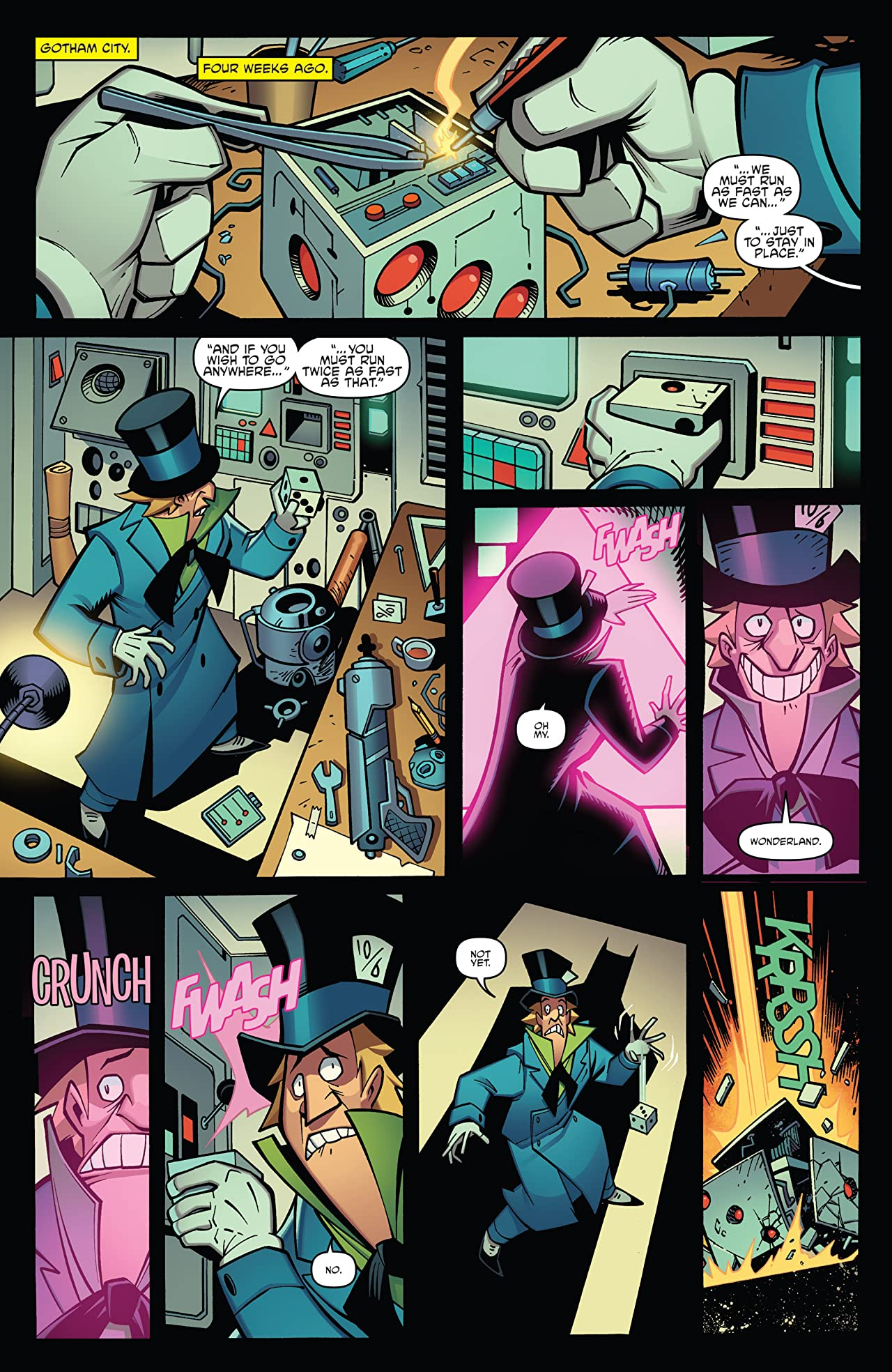 Batman/Teenage Mutant Ninja Turtles Adventures No.5