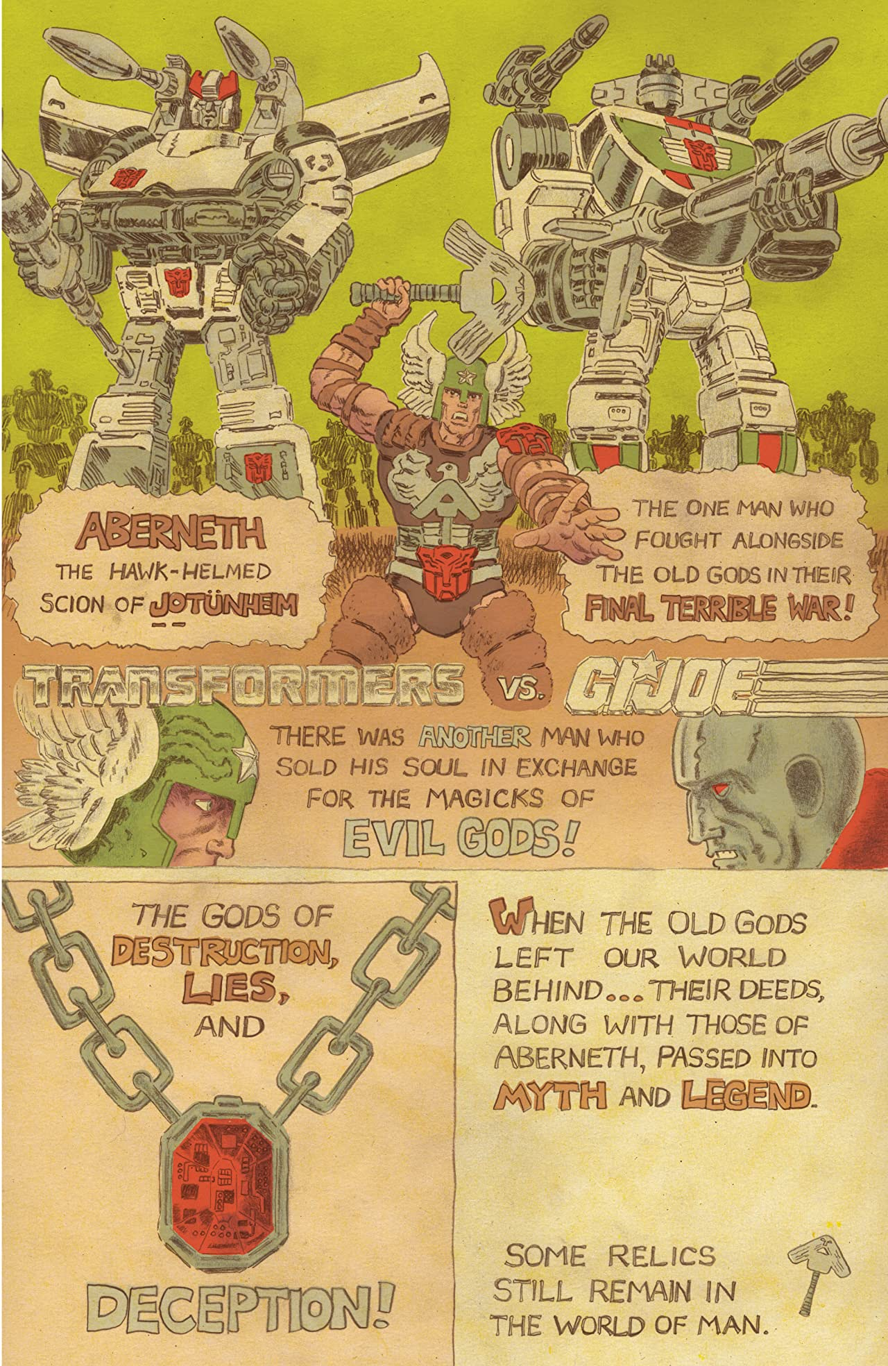 Transformers vs G.I. JOE: The Movie Adaptation