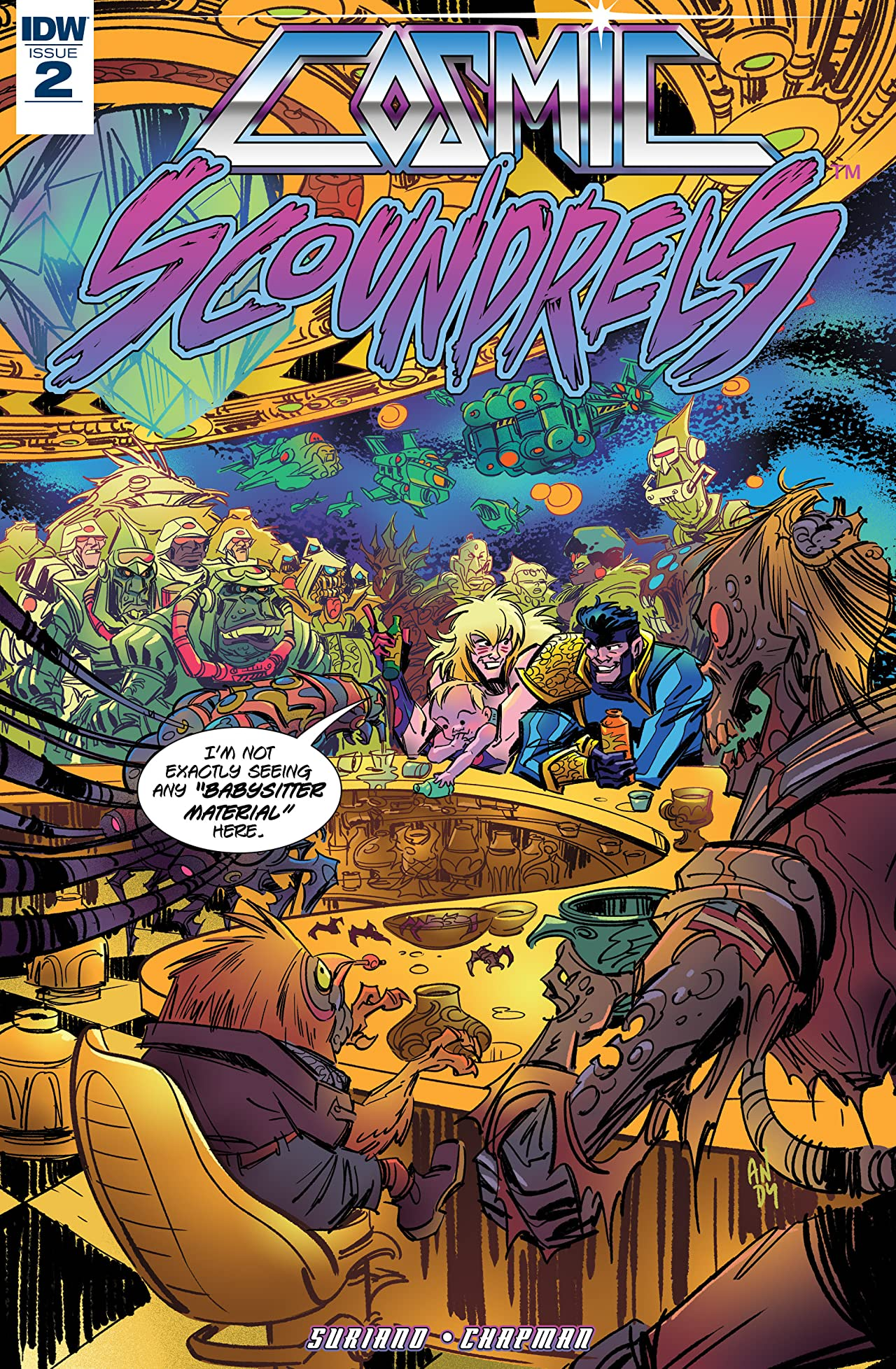 Cosmic Scoundrels #2 (of 5)