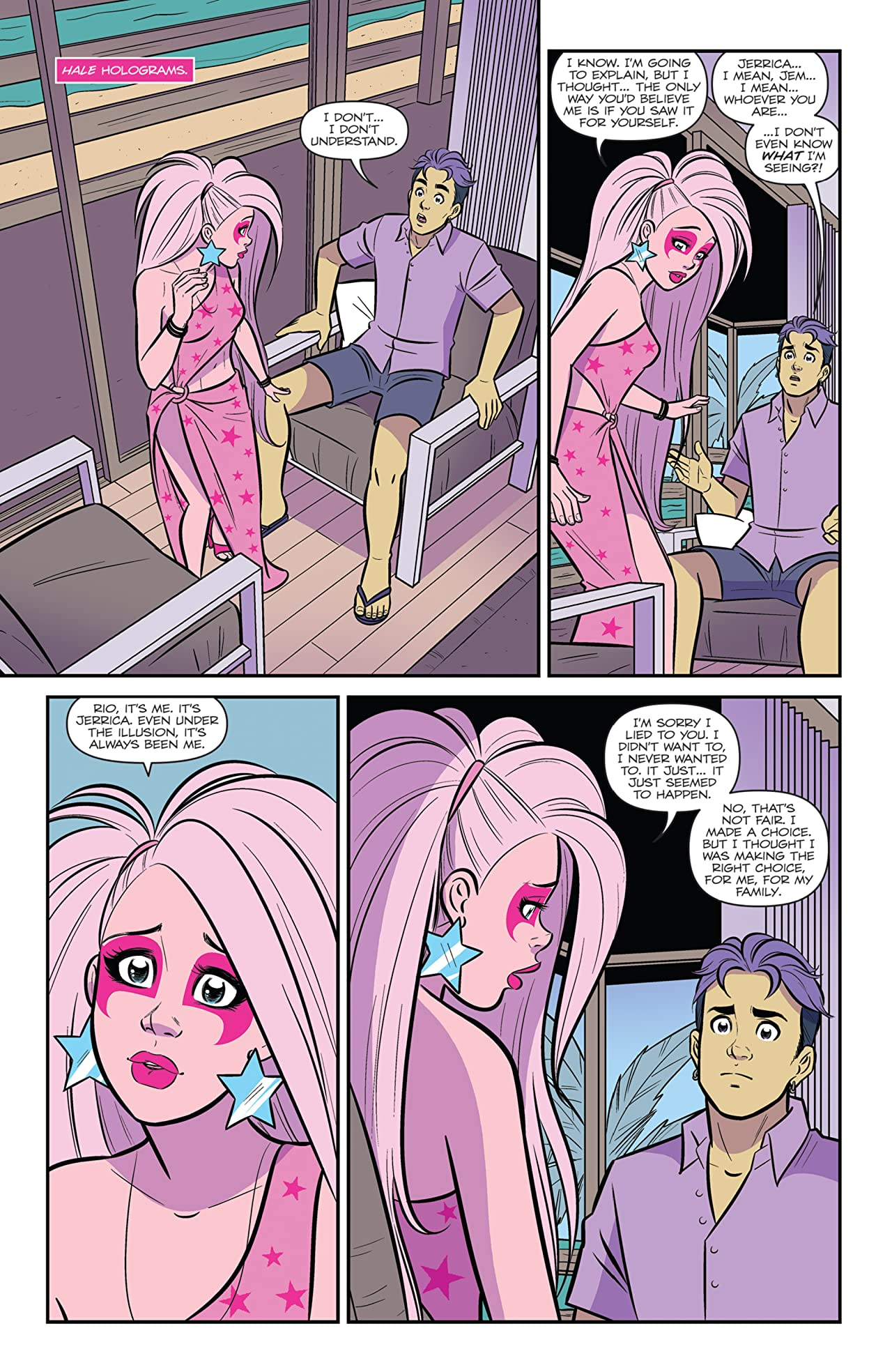 Jem and the Holograms (2015-) #25