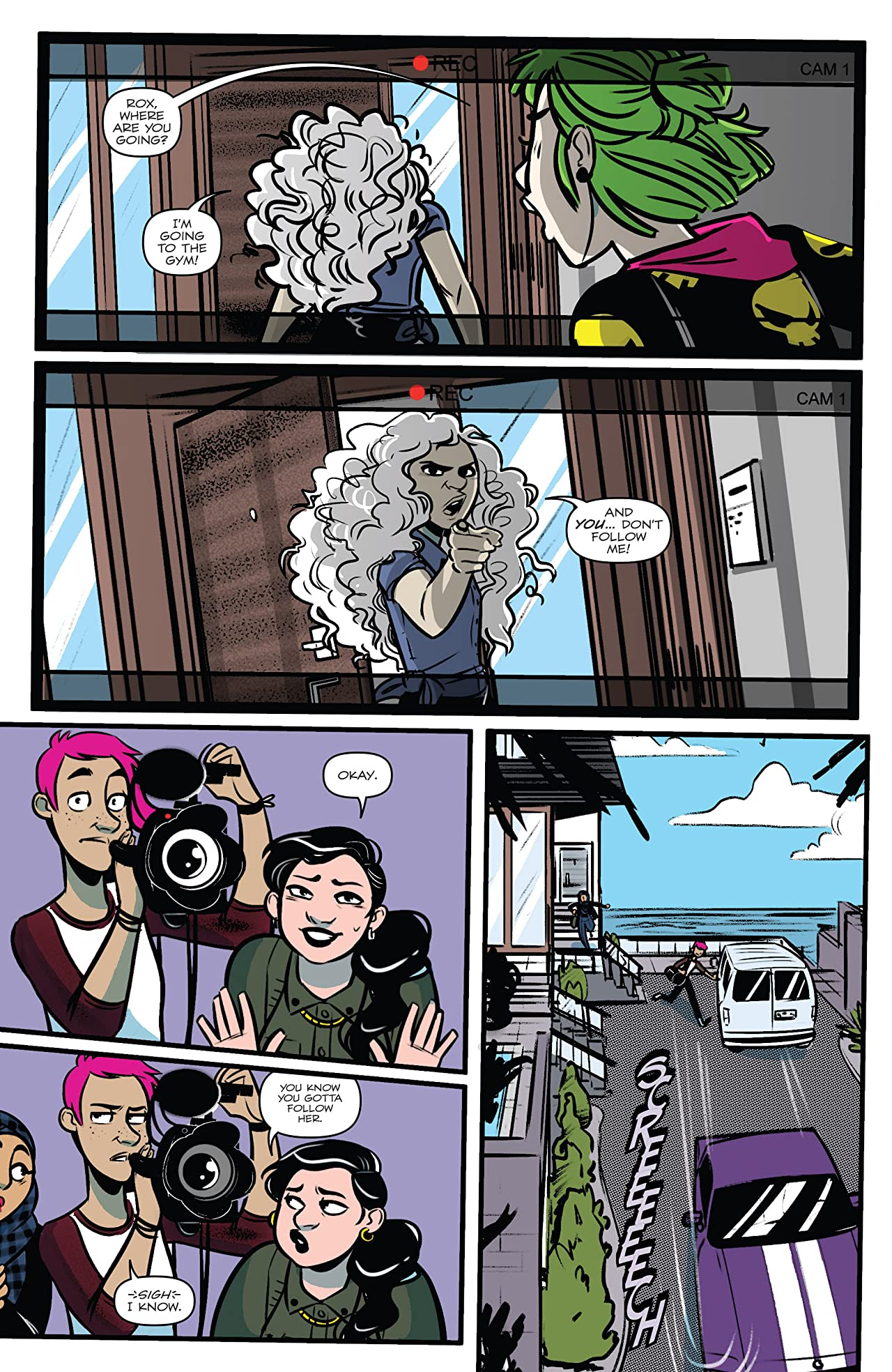 Jem: The Misfits #4