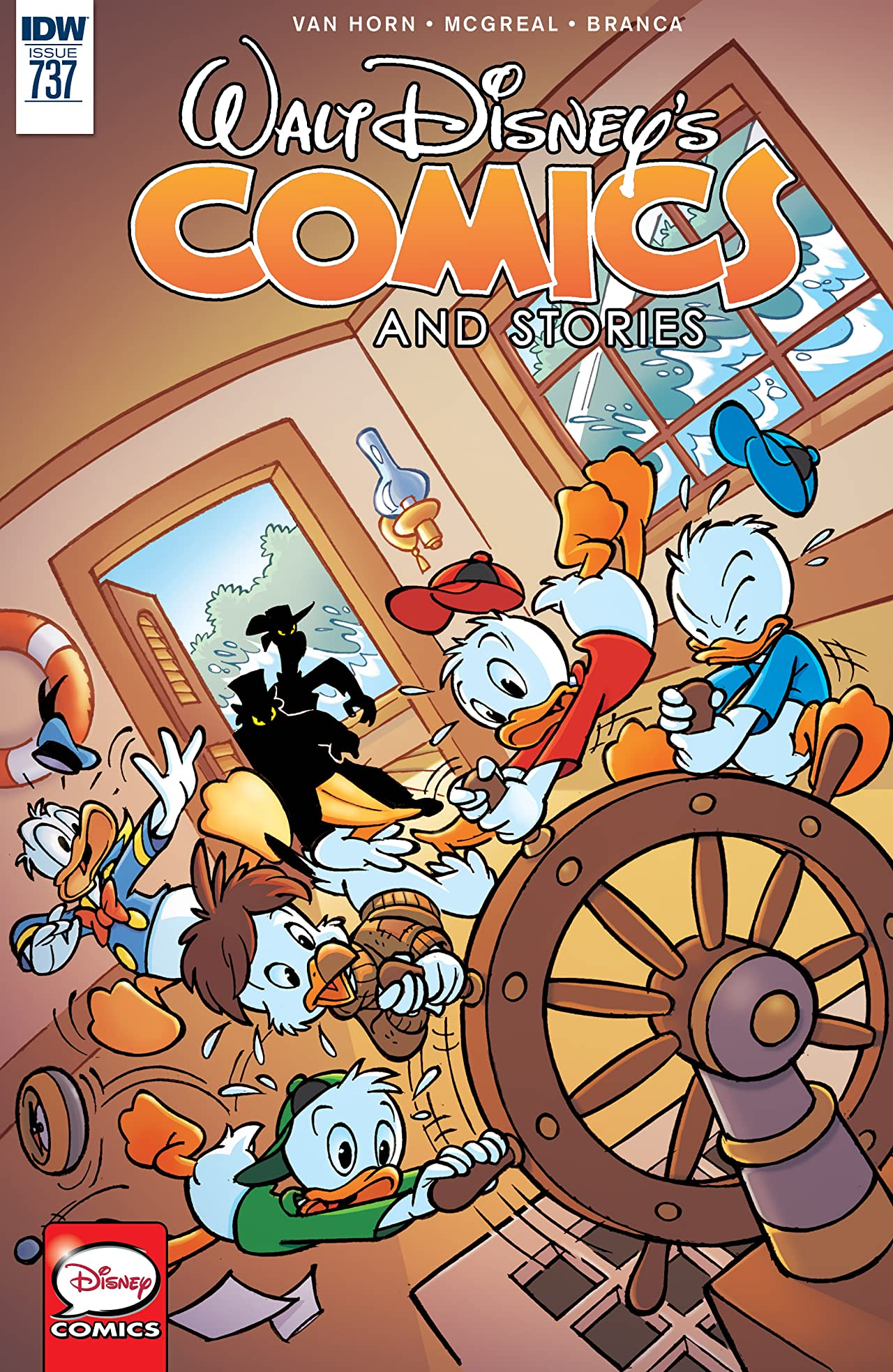 Walt Disney's Comics and Stories #737