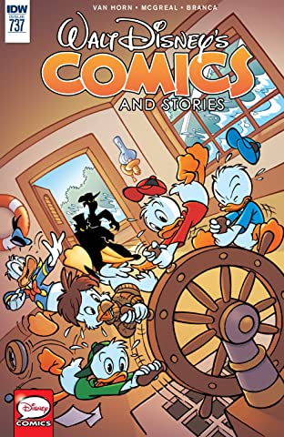 Walt Disney's Comics and Stories No.737