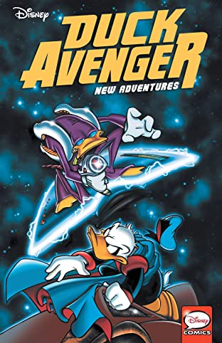 Duck Avenger New Adventures, Book 1