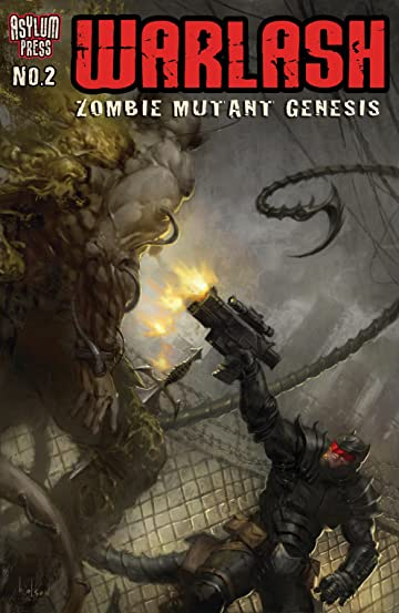 Warlash: Zombie Mutant Genesis #2 (of 3)