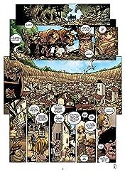 La Geste des Chevaliers Dragons Vol. 5: Les Jardins du Palais