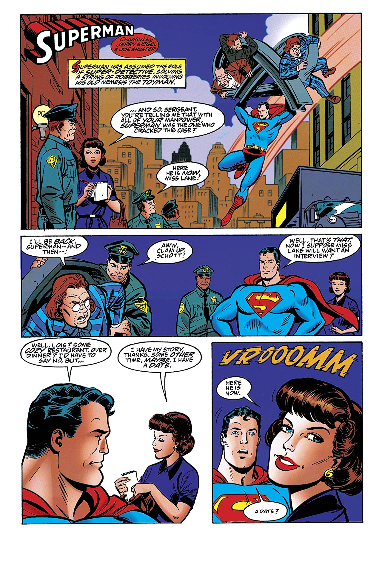 Adventures of Superman (1986-2006) #560