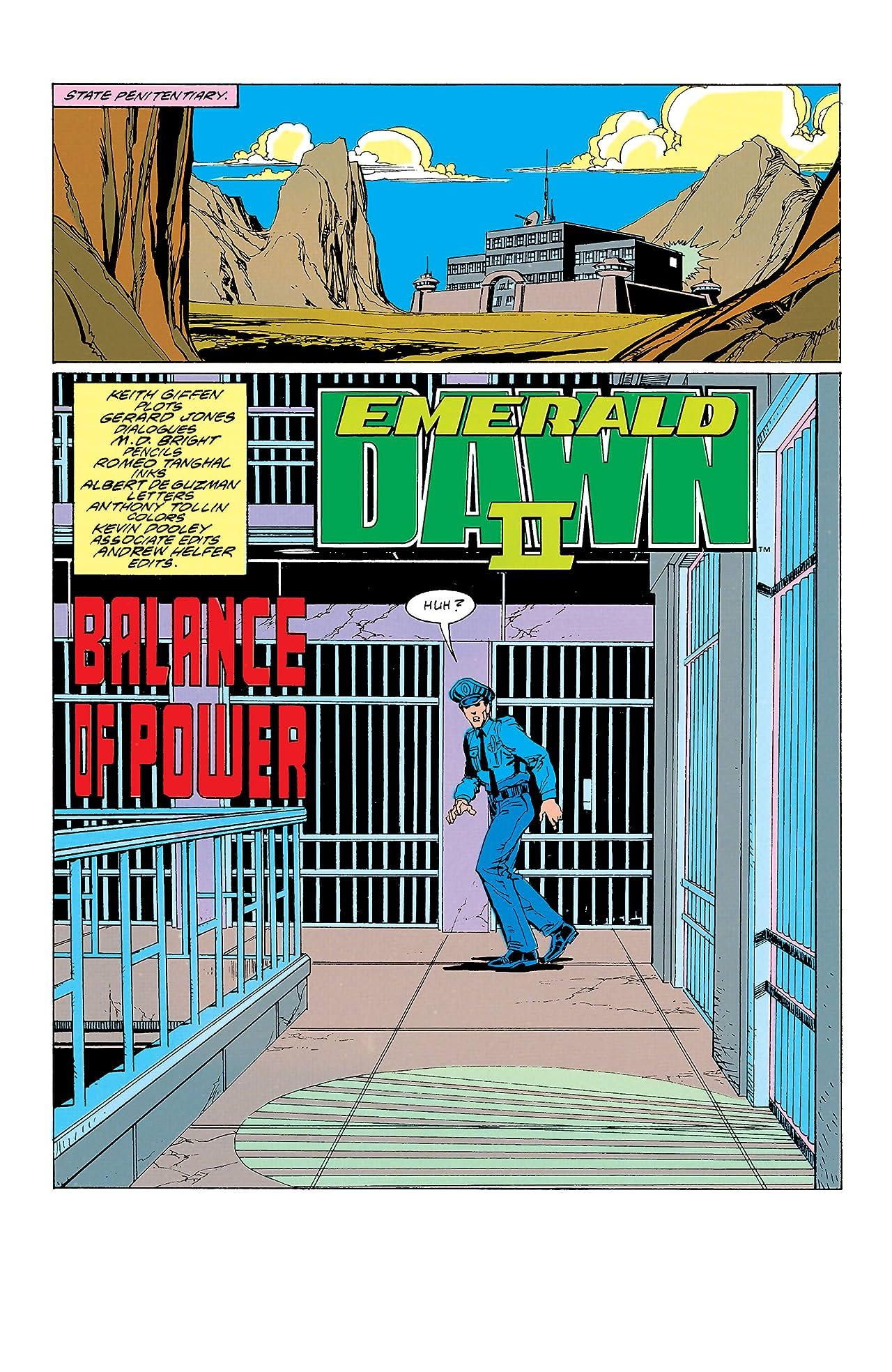Green Lantern: Emerald Dawn II (1991) #2