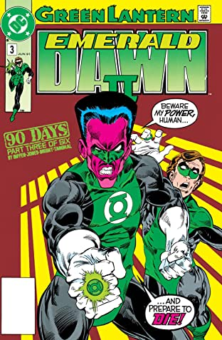 Green Lantern: Emerald Dawn II (1991) #3
