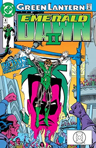 Green Lantern: Emerald Dawn II (1991) #4